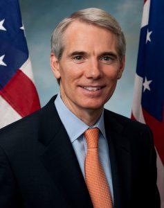 Ohio Senator, Rob Portman (R).