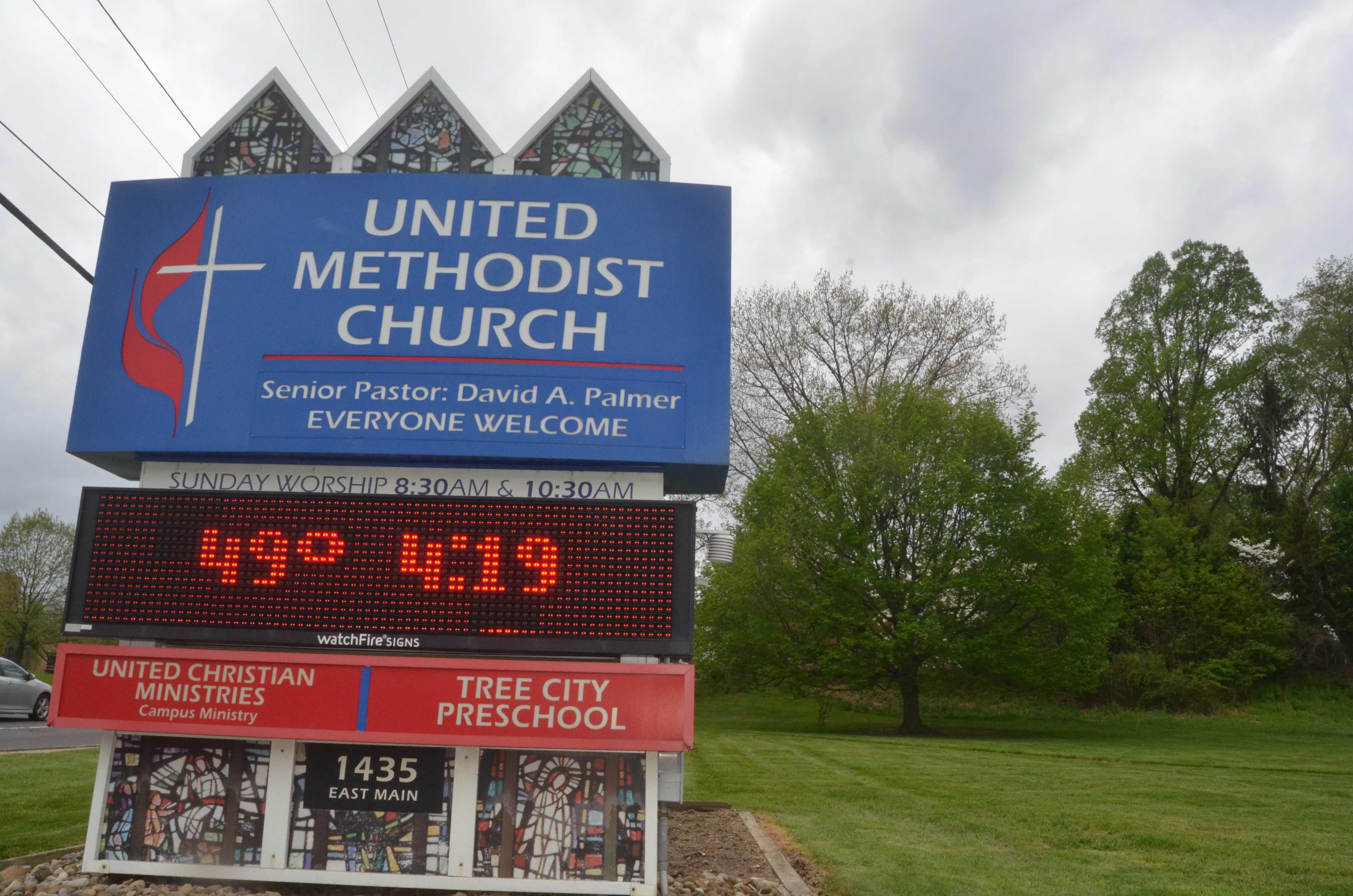 from Eduardo united methodist church gay agenda