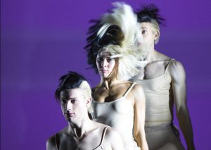 """Sia's interpretive dancers dance to """"Cheap Thrills"""" at All Access Cleveland on Saturday, September 10, 2016."""