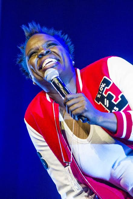 Actress Leslie Jones performs at All Access Cleveland on Saturday, Sept. 10, 2016.