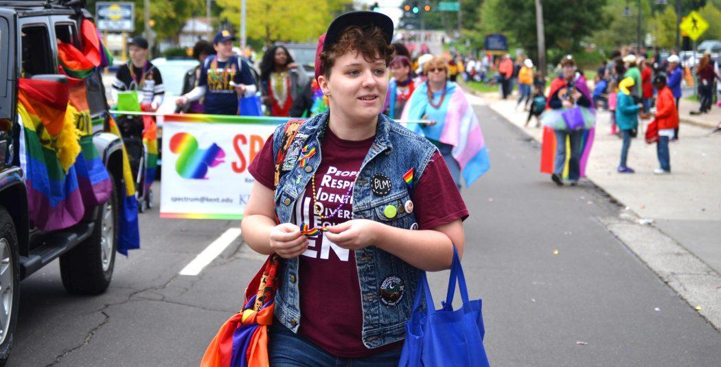 Pride & Visibility at Kent's Homecoming Parade