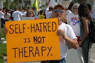 """""""Reparative Therapy."""" Photo by Daniel Tobias. (CC BY-SA 2.0)"""