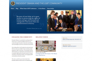White House LGBT Page Disappears Following Inauguration