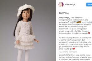 Jazz Jennings and Tonner Doll Co. Team Up For First Transgender Doll
