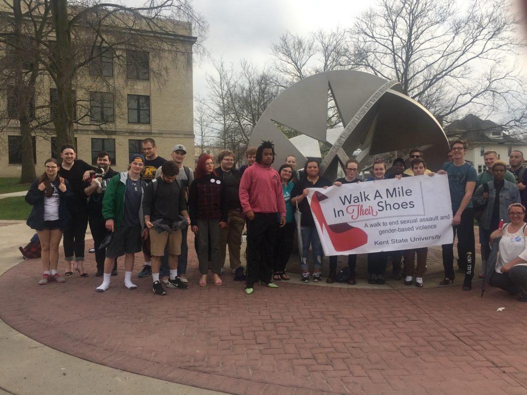Walk a Mile in Their Shoes Encourages Conversation About Sexual Assault