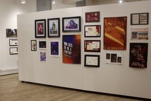 Student artists showcase their work at Taylor Hall gallery