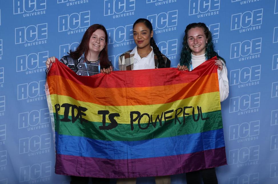 Tessa Thompson and Brie Larson Talk Marvel Universe Inclusivity