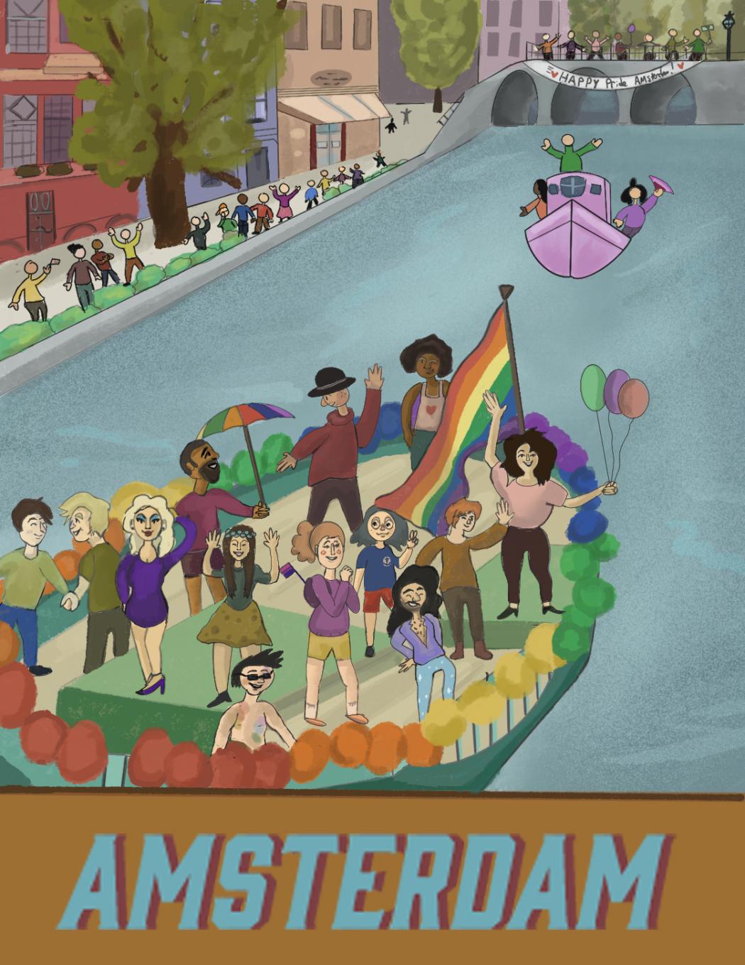 Series: Pride Around The World- Amsterdam