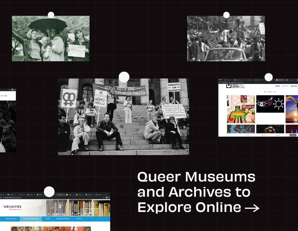 Queer Museums and Archives to Explore Online While Quarantining