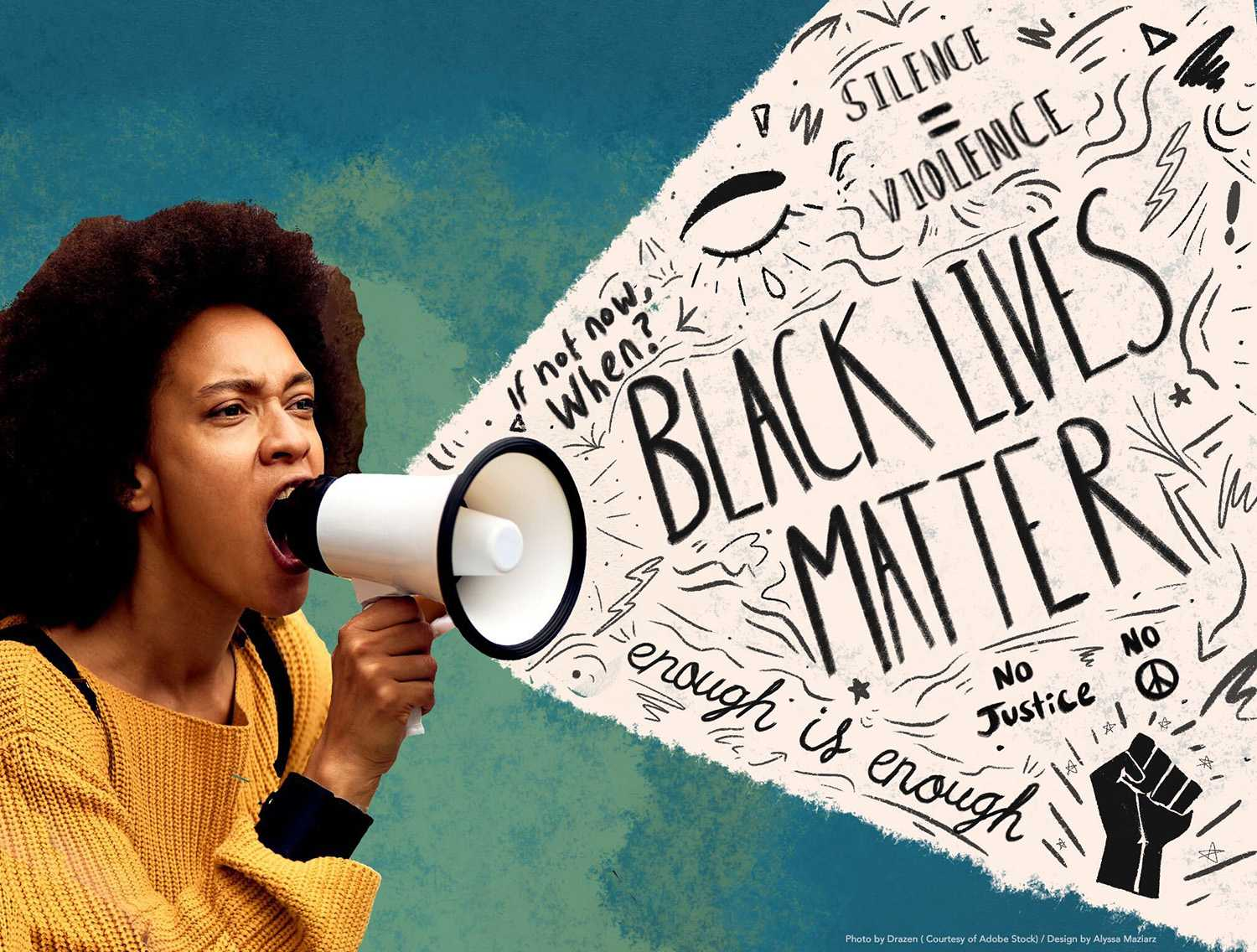 There is power within the Black Lives Matter movement. This includes some of the slogans from the movement, which have helped achieve the arrest of the officers involved in George Floyd's death and the disbanding of police departments in several US cities. By Alyssa Maziarz.