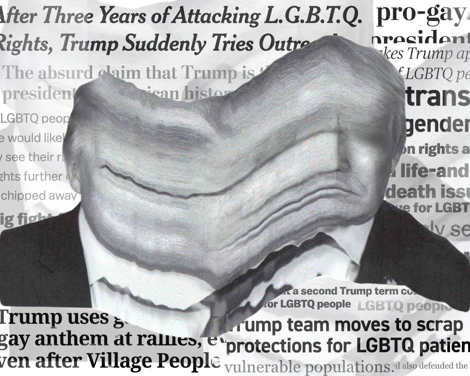 The LGBTQ+ Community and Donald Trump